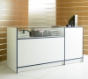 1/4 Glass Combination Counter
