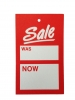 Sale Label - Was and Now