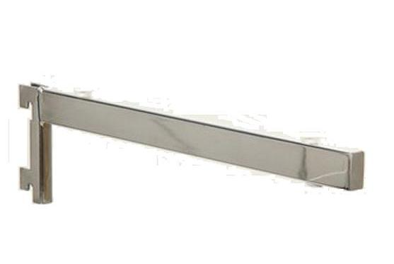 twin slot glass shelf brackets - Glass Shelf Brackets